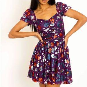 BlackMilk Trick or Treat Cosmic Dress XL